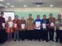 PENYERAHAN PENGHARGAAN KEPADA MAHASISWA PEMENANG LOMBA DAN PENYERAHAN MKP OLEH PIMPINAN UMB 4 JUNI 2014